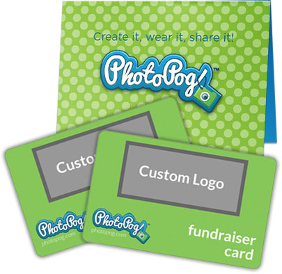 PhotoPog Fundraising Card with Card Carrier